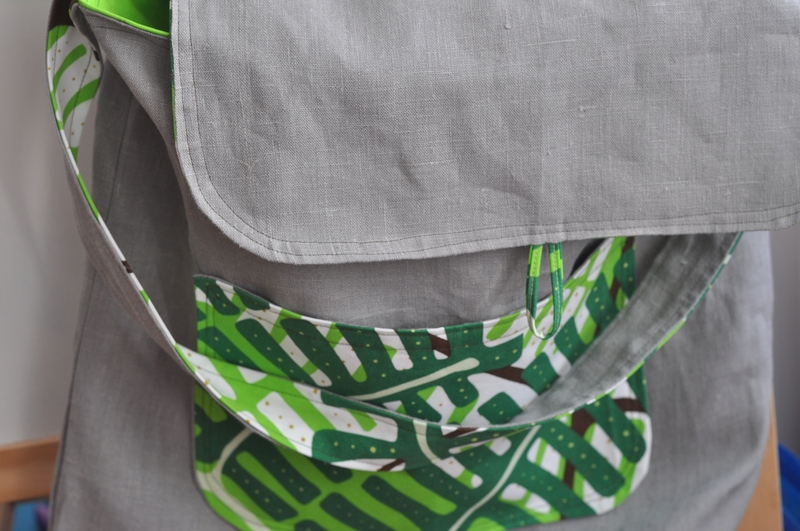 how to make lined pocket