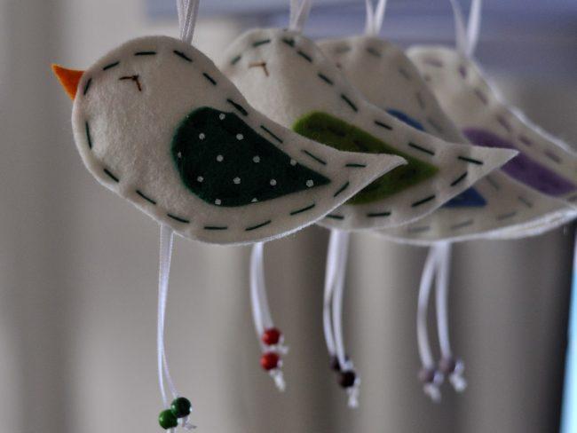 ptičice od filca