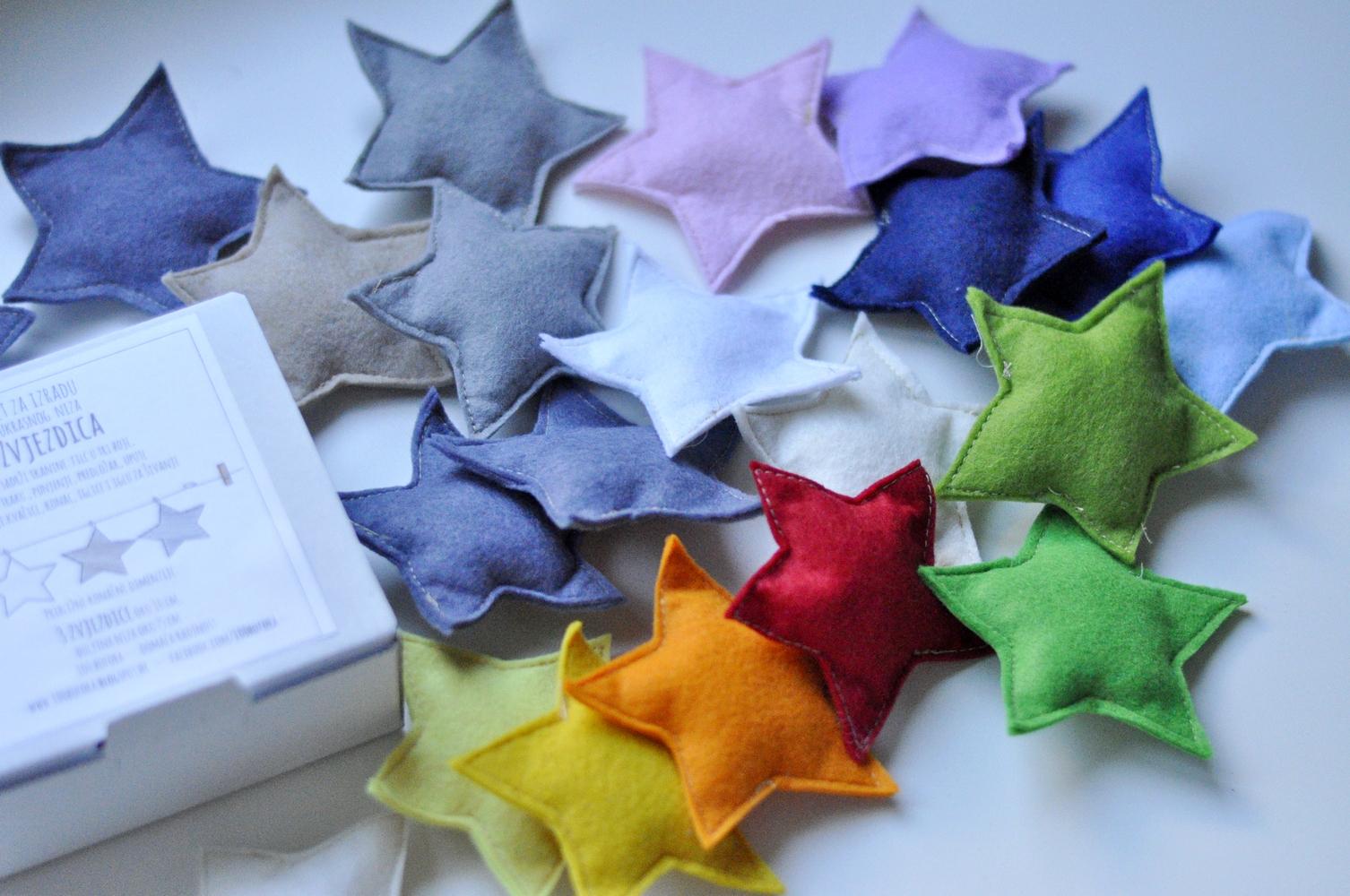 Zvjezdice od filca