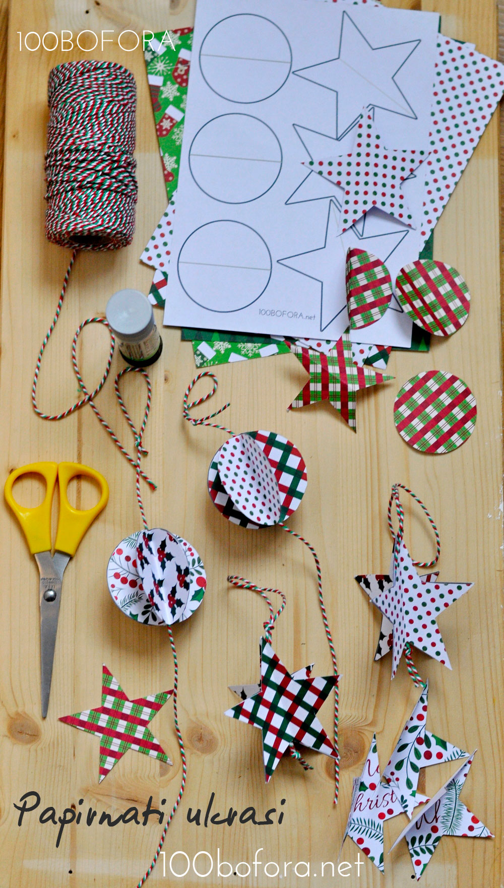 Kako napraviti papirnate ukrase