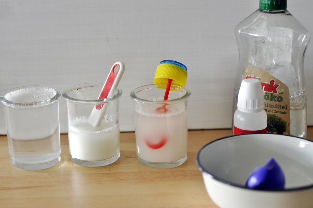 Soap bubbles, recept za balone od sapunice