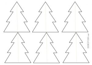 Paper ornaments template download