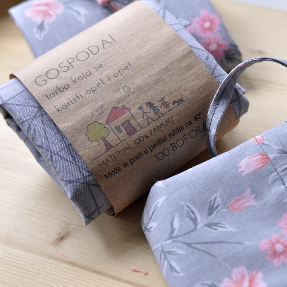 Čateks tkanine za izradu jednostavne torbe