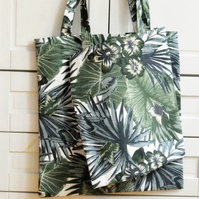 100 bofora - torba za kupovinu Torgerd tkanina IKEA, plasticfree bag, bez plastike