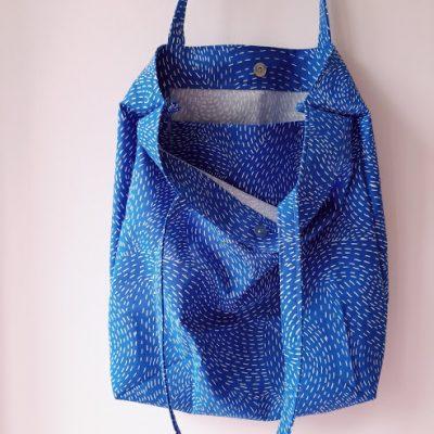 100 bofora - plava torba za plažu i plac