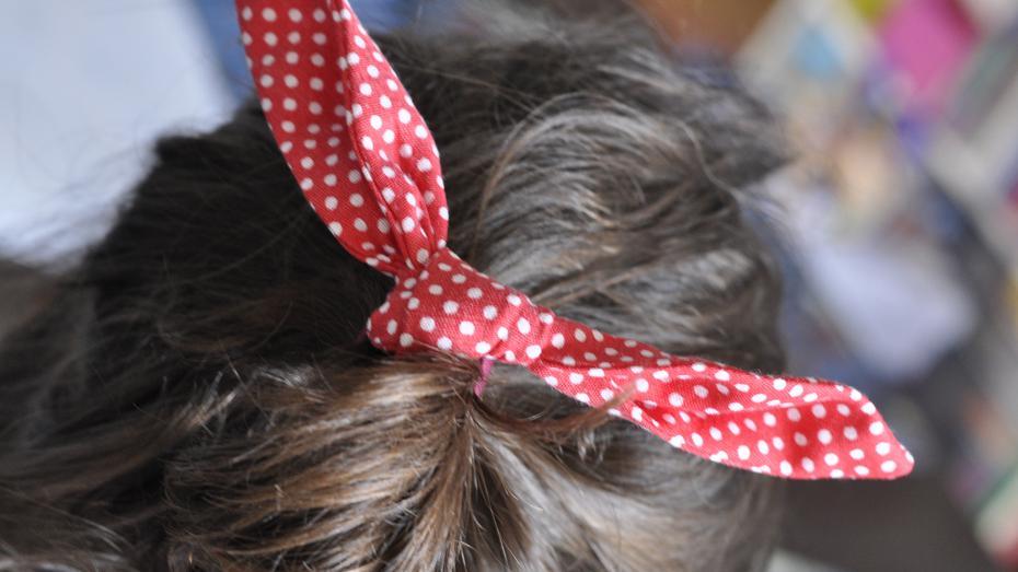 100 bofora - šivanje ukrasa za kosu