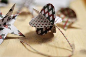 papirnati ukrasi, božićni ukrasi za cijelu obitelj