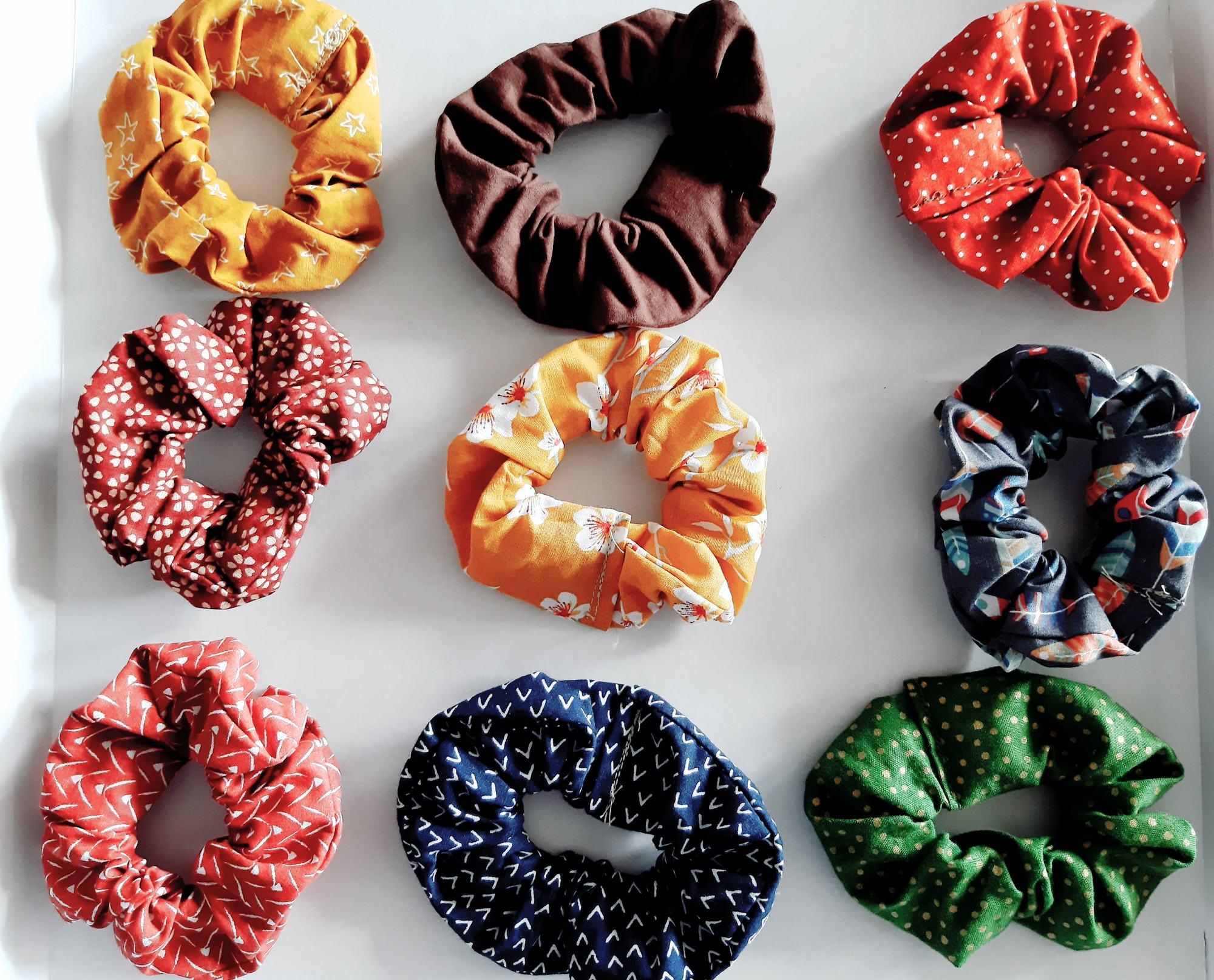 Gumice za kosu Scrunchie gumice